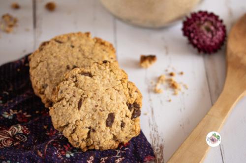 Cookies aux flocons d'avoine et beurre de cacahuète